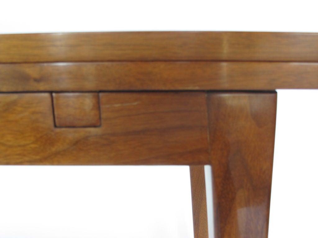 Edward wormley for dunbar flip top console table in walnut for edward wormley for dunbar flip top console table in walnut 3 geotapseo Image collections