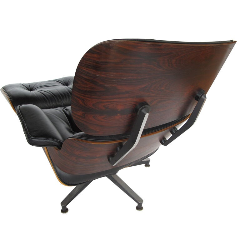 An eames 670 lounge chair and ottoman herman miller 1977 - Herman miller eames lounge chair and ottoman ...