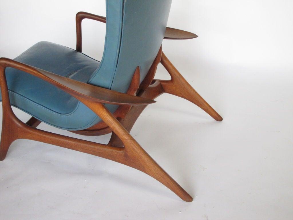 vladimir kagan multi-position reclining chair at 1stdibs
