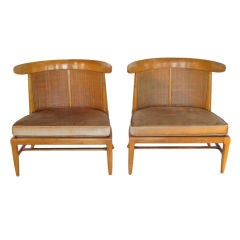 "A Pair of Tomlinson ""Sophisticate"" Slipper Chairs"