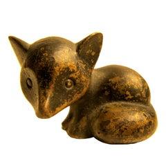 Hagenauer Cat Miniature Sculpture Wiener Werkstatte