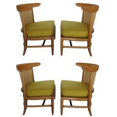 "A Set of Four ""Sophisticate"" Slipper Chairs by Tomlinson"
