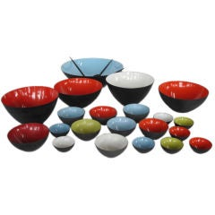 Collection of Krenit Bowls, Denmark
