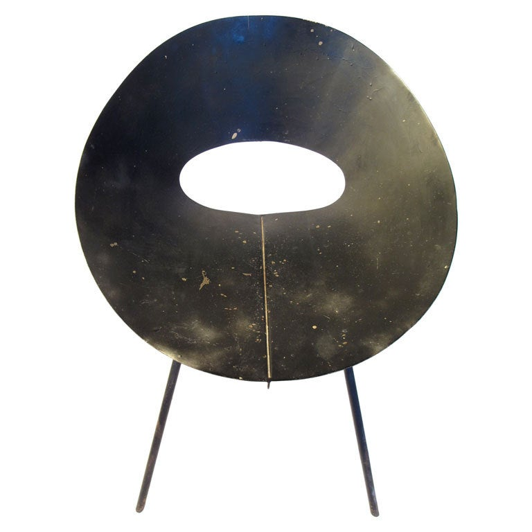 Donald Knorr Modernist Chair for Knoll