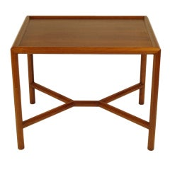 Edward Wormley for Dunbar  Walnut Table # 5630