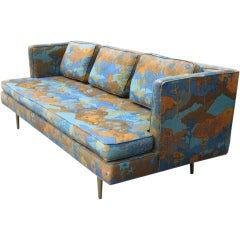 Edward Wormley for Dunbar Brass Leg Sofa