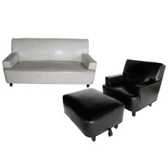 George Nelson for Herman Miller Sofa and Lounge Chair