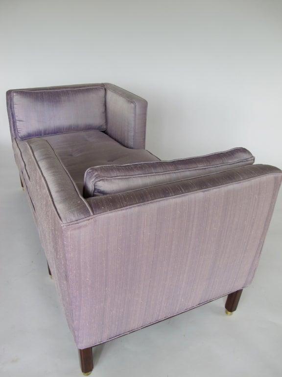 Edward Wormley For Dunbar Tete A Tete Sofa Image 6