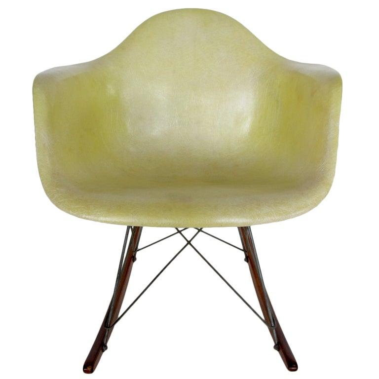 charles eames herman miller rar rocking chair at 1stdibs