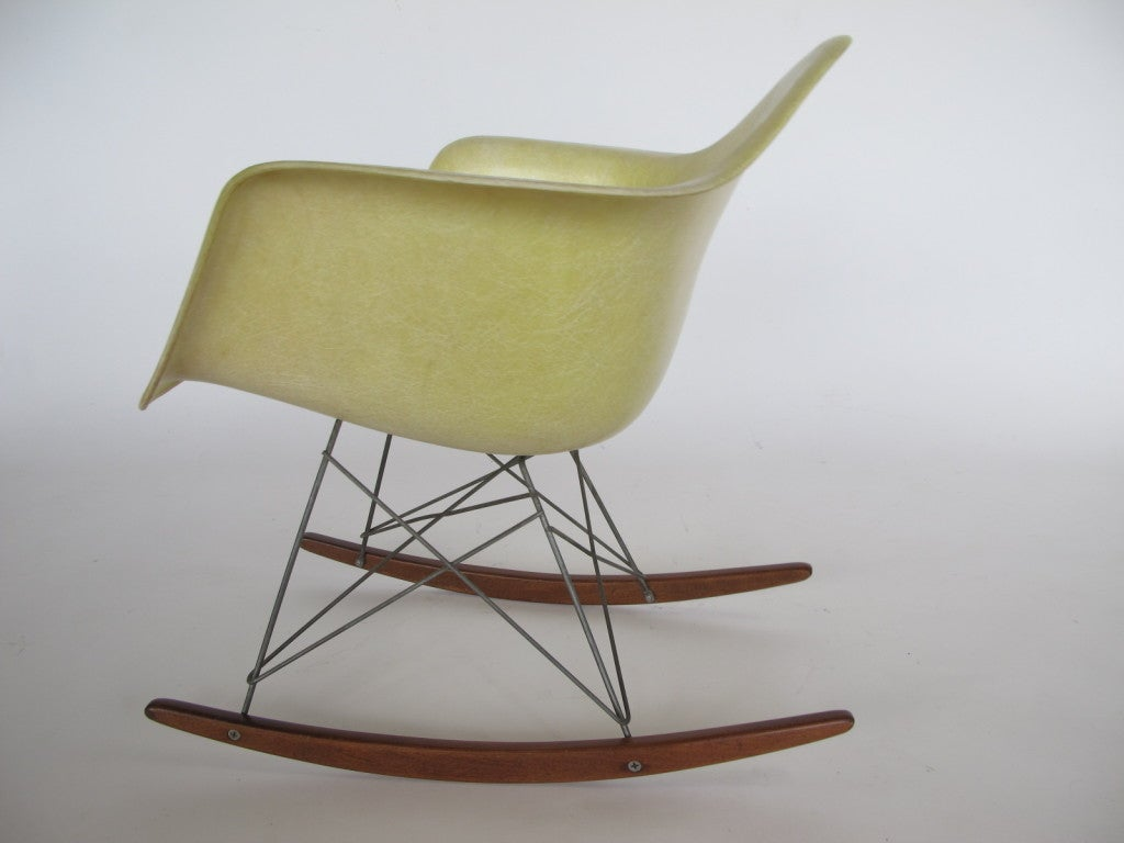 charles eames herman miller rar rocking chair at 1stdibs