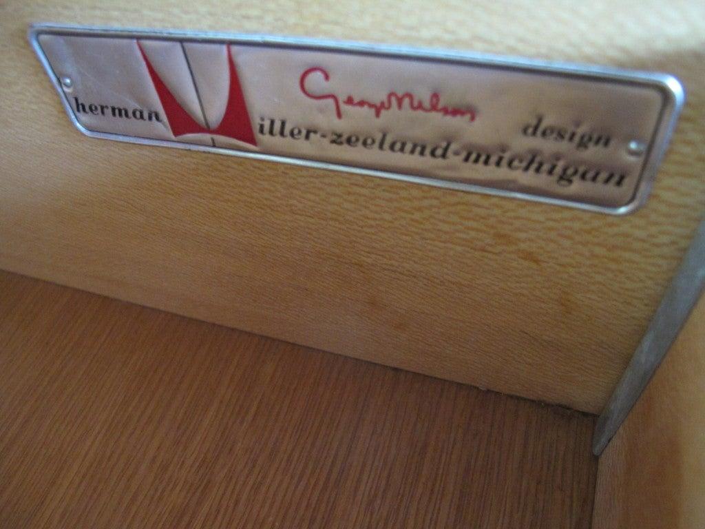 George Nelson Walnut Dresser for Herman Miller 2