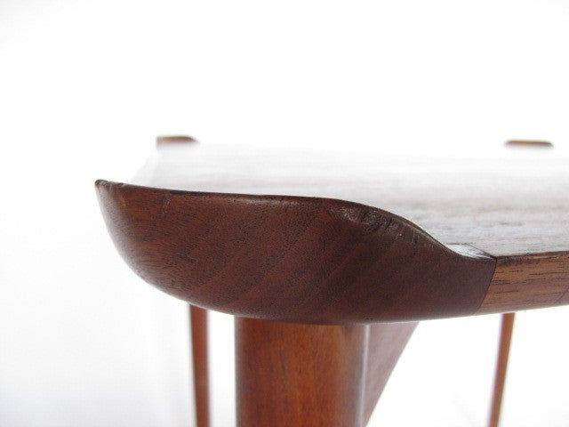 Mid-Century Modern Finn Juhl for Baker Card Table For Sale