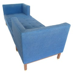 "Edward Wormley for Dunbar ""Tête-à-Tête"" Sofa"