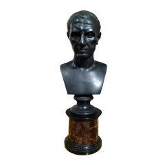 Bronze Bust Of A Julius Caesar