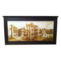 Grand Tour Photograph Of The Roman Forum