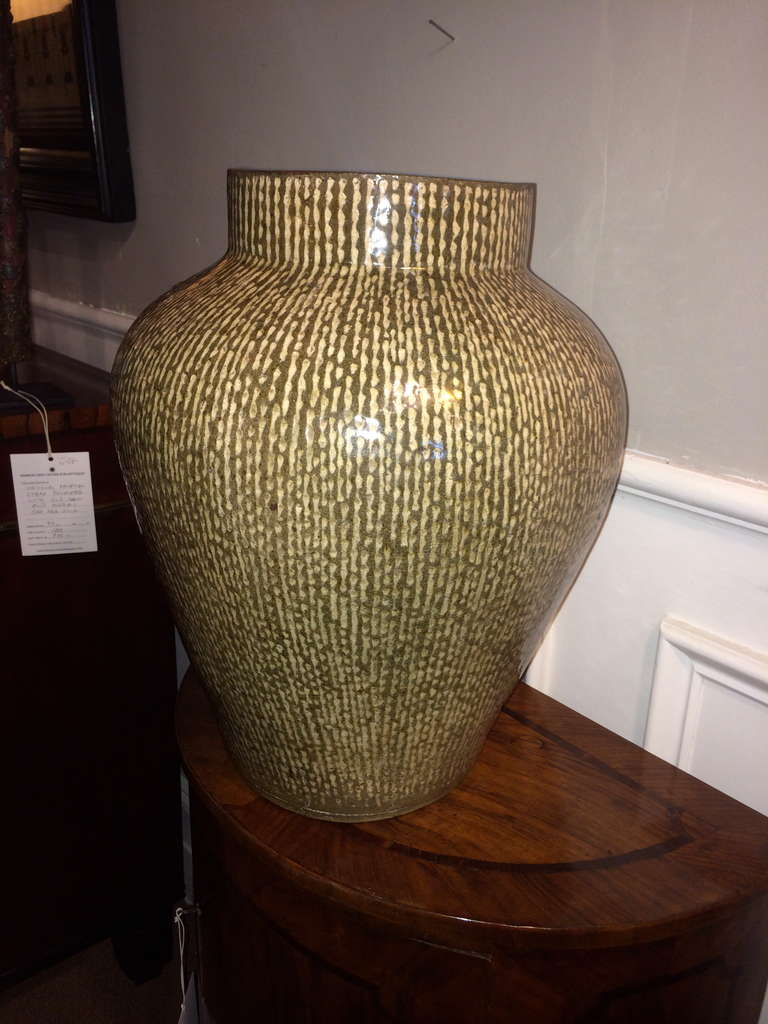 Japanese Celadon Vase at 1stdibs