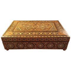 Anglo-Indian Inlaid Box