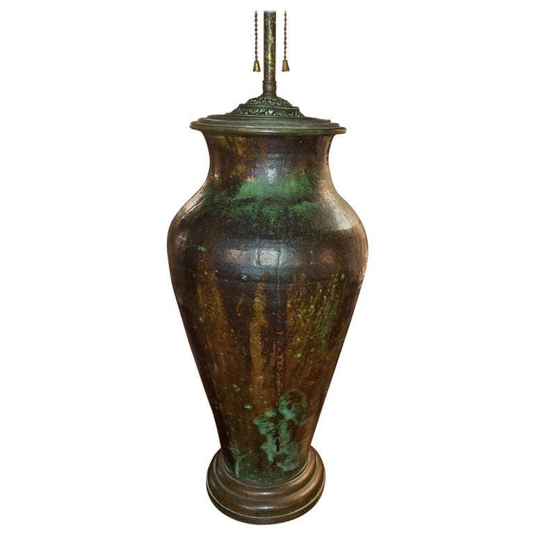 Art Pottery Lamp