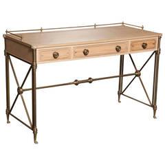 Regency Style Campaign Desk