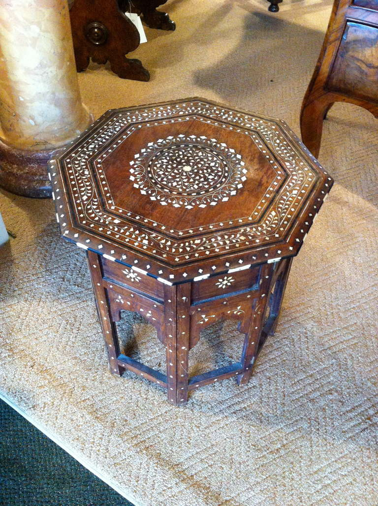 Anglo indian rosewood and ivory side table at 1stdibs anglo indian rosewood and ivory side table 3 geotapseo Choice Image