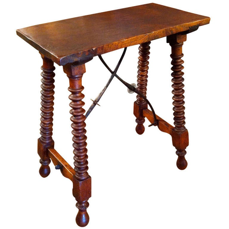 Spanish baroque side table at 1stdibs for Spanish baroque furniture