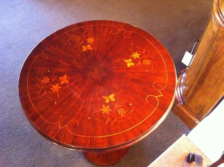 Pair French Art Deco Side Table 3