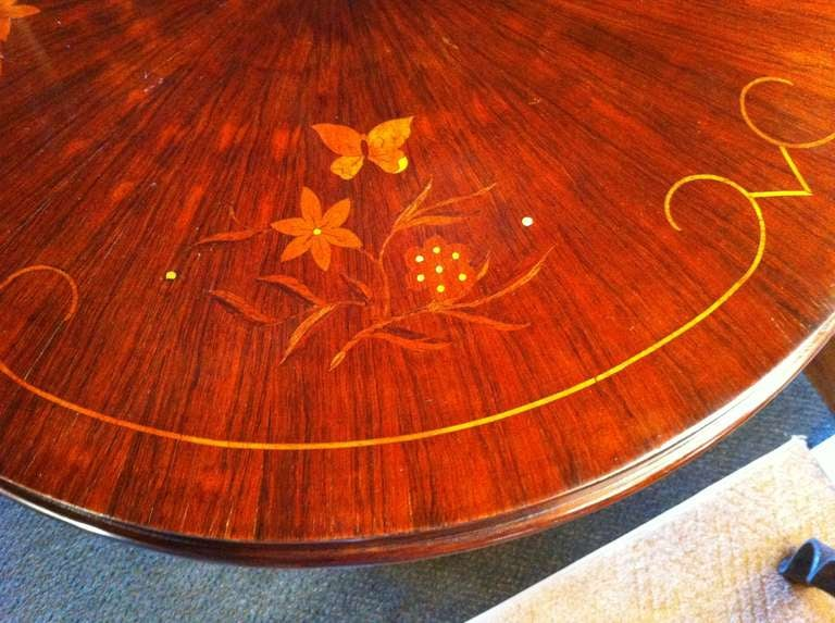 Pair French Art Deco Side Table 4