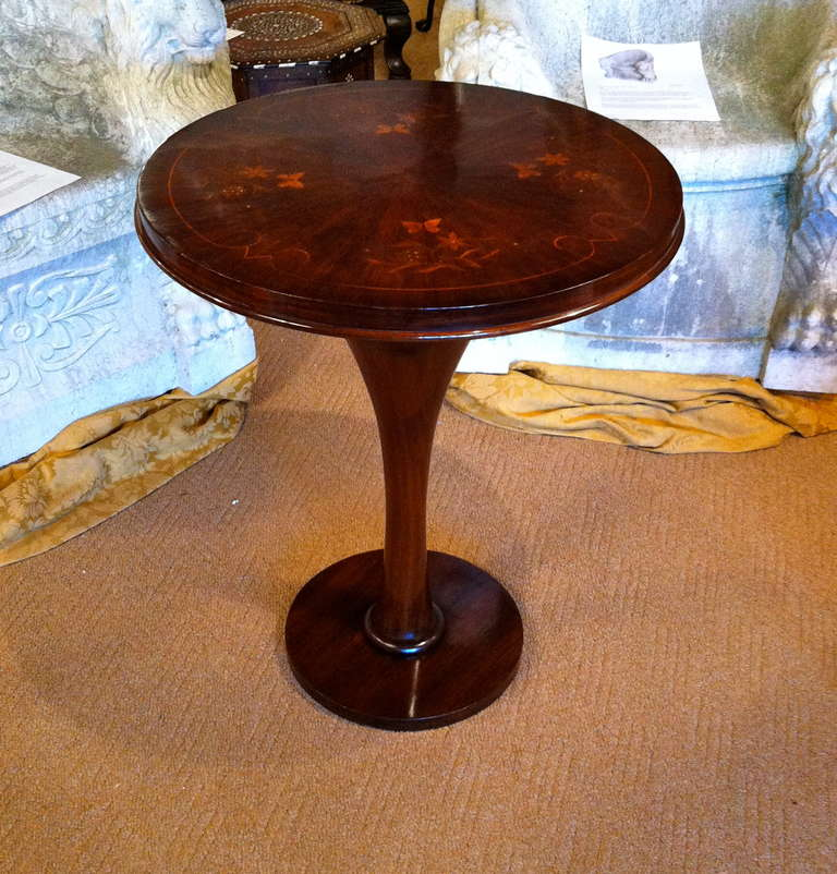 Pair French Art Deco Side Table 2