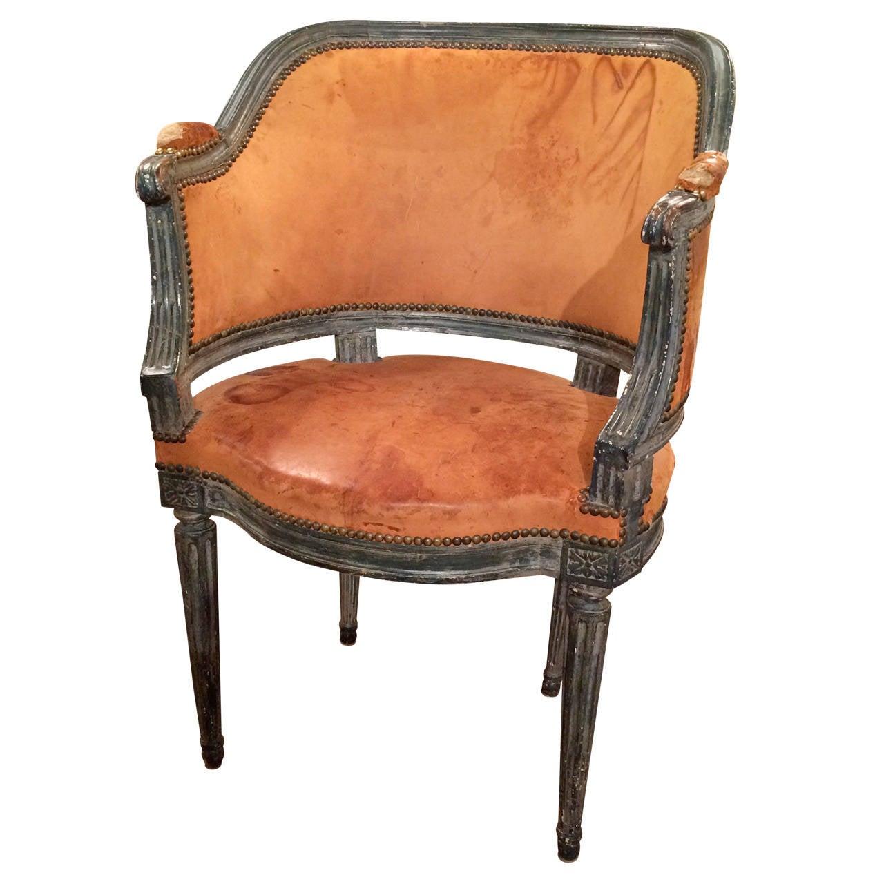 Venetian Painted Armchair 1