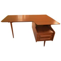 Danish Desk with Three Legs