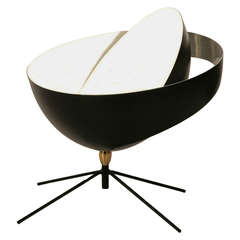 Saturne Desk Lamp by Serge Mouille