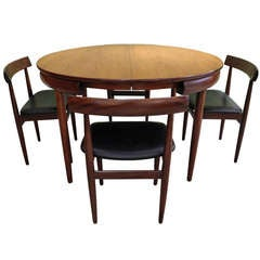 Hans Olsen Dining Table and Chairs