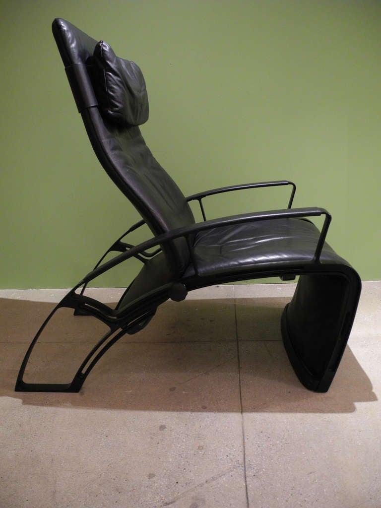 Beautiful Reclining Lounge Chair By Ferdinand Porsche 2