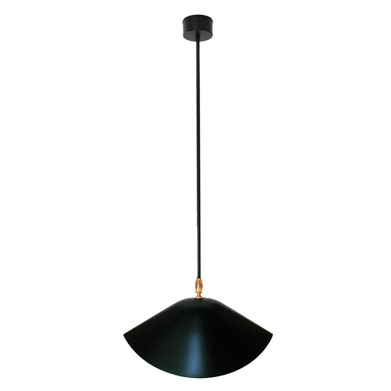 library ceiling lamp by serge mouille at 1stdibs. Black Bedroom Furniture Sets. Home Design Ideas
