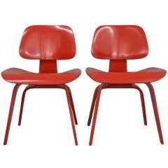 Set of 2 Eames Chair DWC