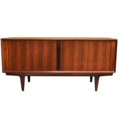 Danish Sideboard with Tambour doors