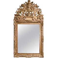 French Regence Giltwood Mirror