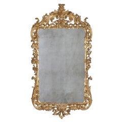 George II Giltwood Mirror, circa 1750