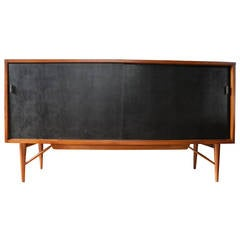 Solid Cherry Cabinet Sideboard or Credenza by Kipp Stewart for Winchendon