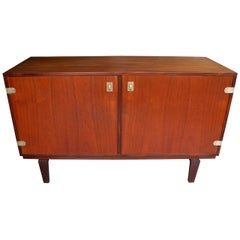 Danish Modern Teak Sideboard or Credenza by Peter Løvig Nielsen