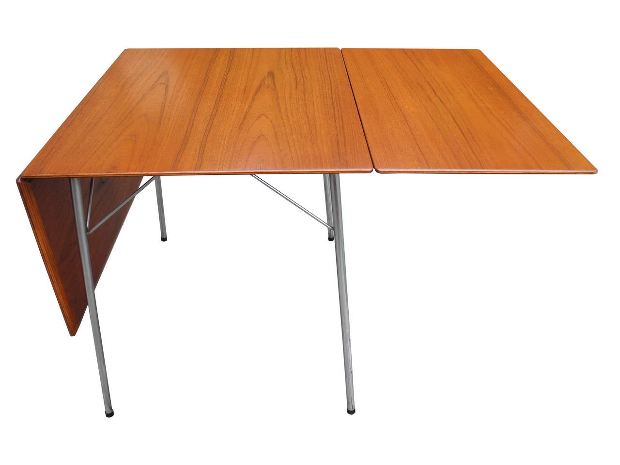Arne jacobsen folding dining table at 1stdibs for Folding dining room table