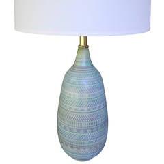Mid-Century Modern Design Technics Ceramic Table Lamp
