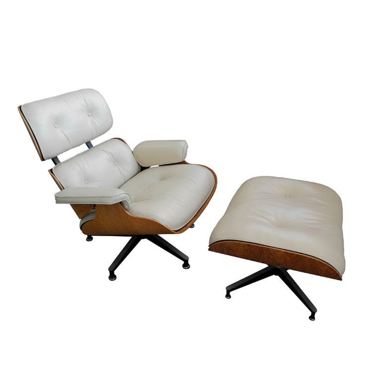 Eames 670 671 Lounge Chair And Ottoman For Herman Miller At 1stdibs