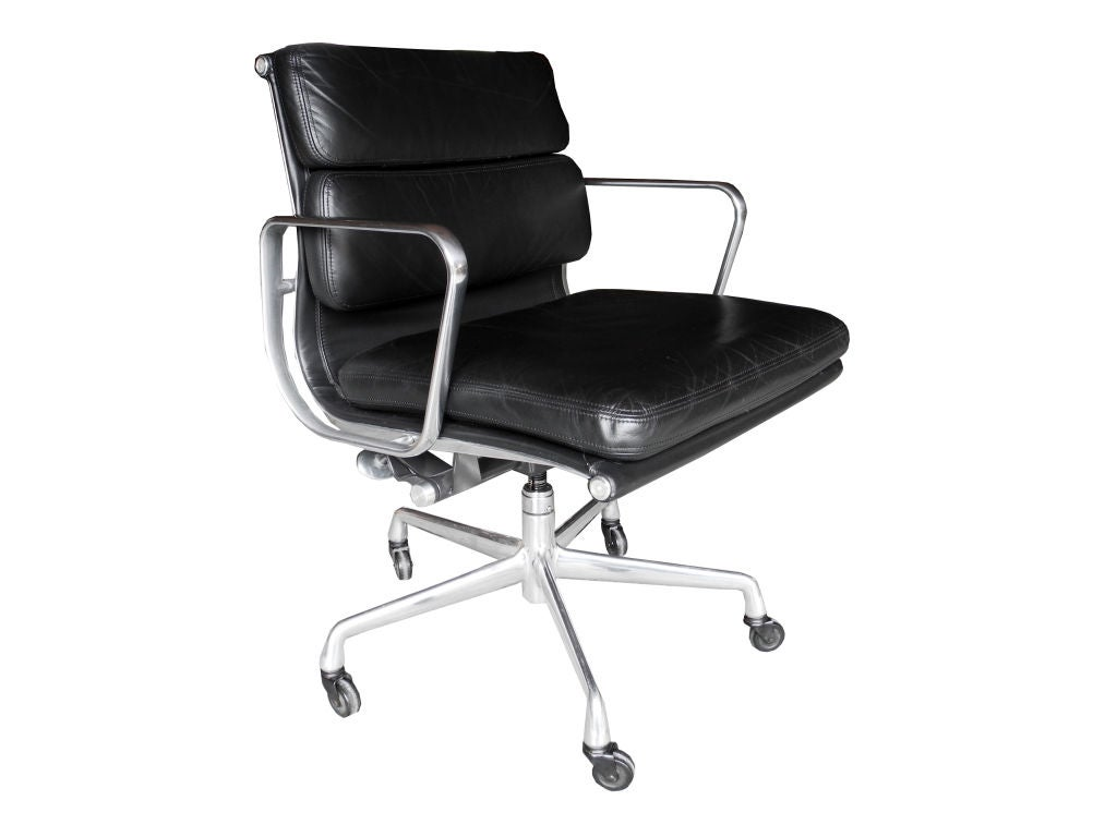 eames soft pad chair by herman miller at 1stdibs