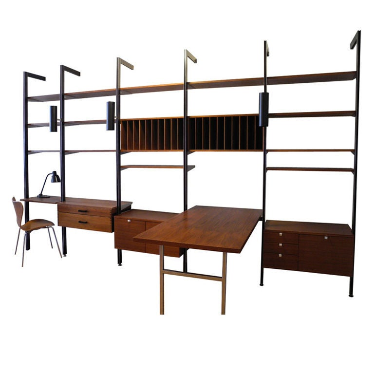 George Nelson for Herman Miller CSS Wall Unit at 1stdibs