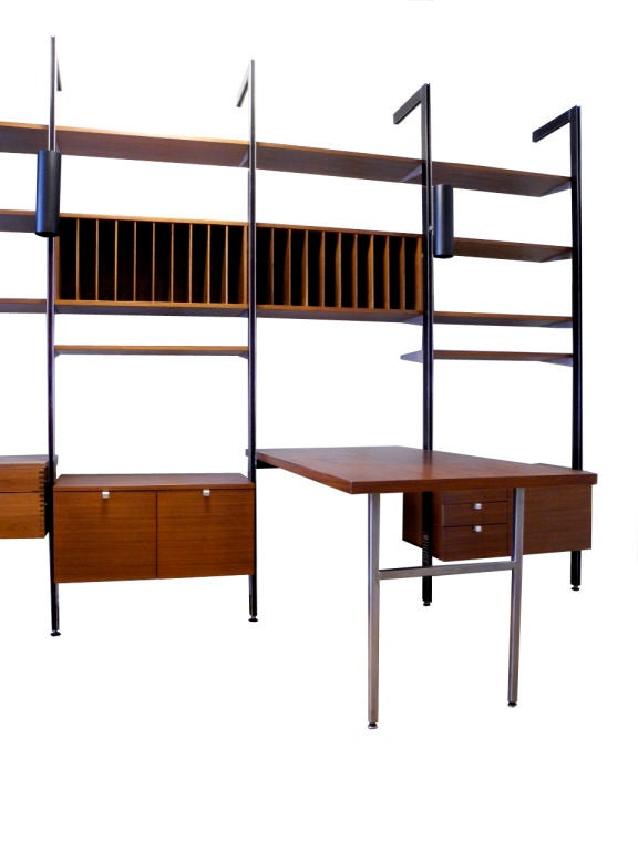 American George Nelson for Herman Miller CSS Wall Unit For Sale