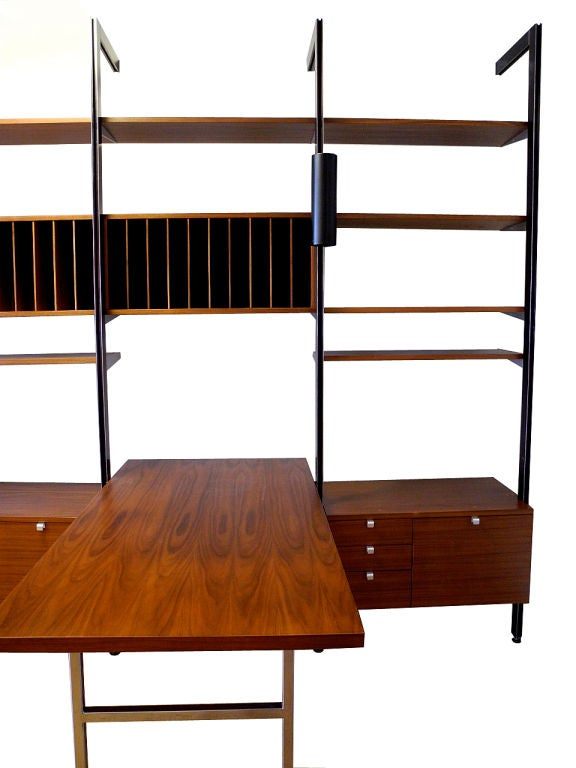 Mid-20th Century George Nelson for Herman Miller CSS Wall Unit For Sale