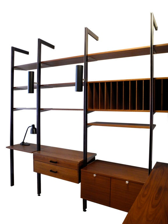 George Nelson for Herman Miller CSS Wall Unit For Sale 1