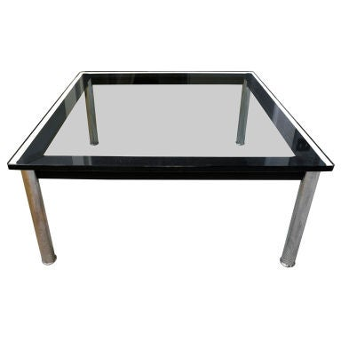 coffee table by le corbusier for cassina at 1stdibs. Black Bedroom Furniture Sets. Home Design Ideas