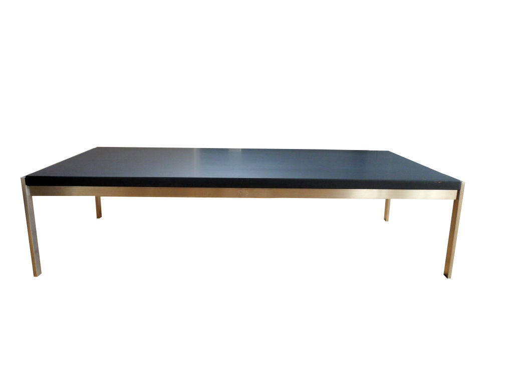 Slate Coffee Table By Poul Kjaerholm For Fritz Hansen At 1stdibs